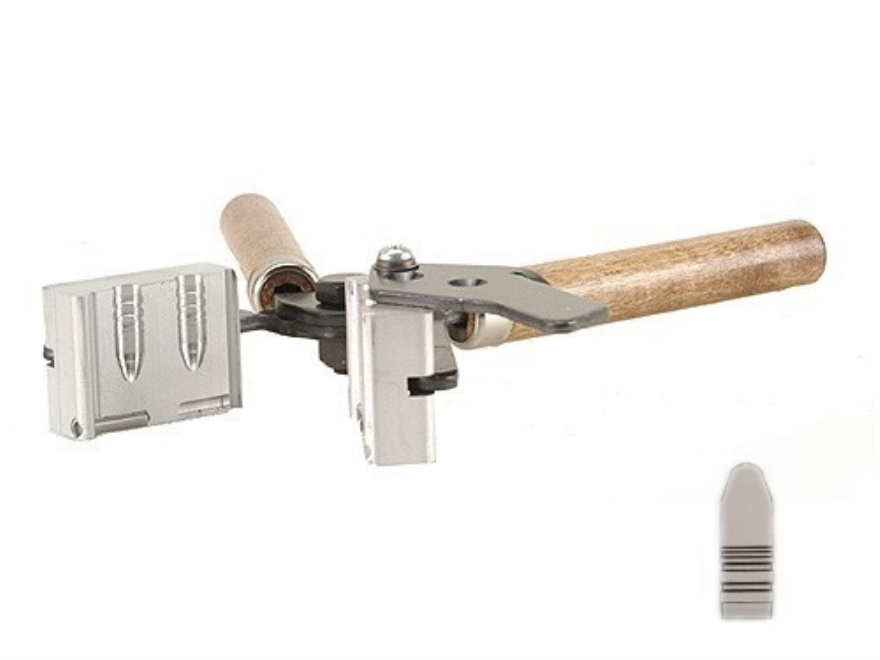 Lee 2-Cavity Bullet Mold C324-175-1R 8mm Remington Magnum (324 Diameter) 175 Grain 1 Og...
