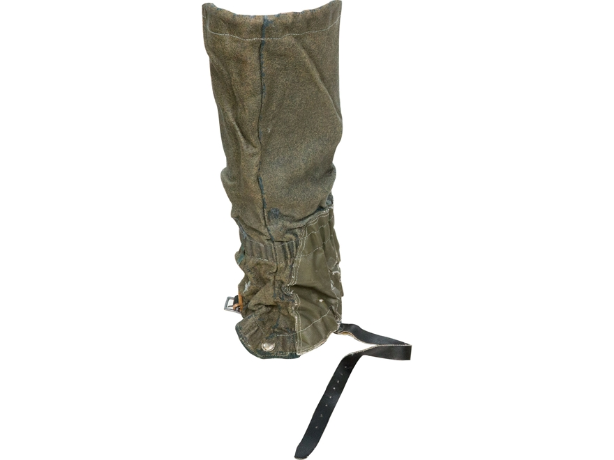 Military Surplus Swiss Mountain Gaiters with Strap Grade 2