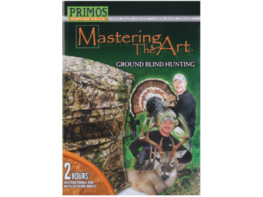 "Primos ""Mastering the Art, Ground Blind Hunting"" Instructional DVD"