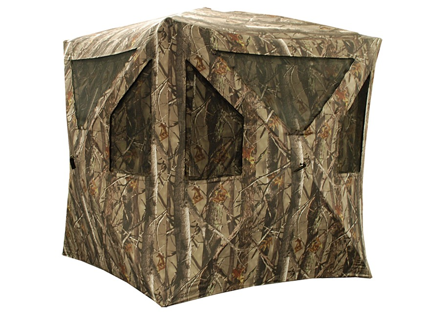 "True Timber Timber Blind V1 Ground Blind 67"" x 67"" x 61"" Polyester XD3 Camo"