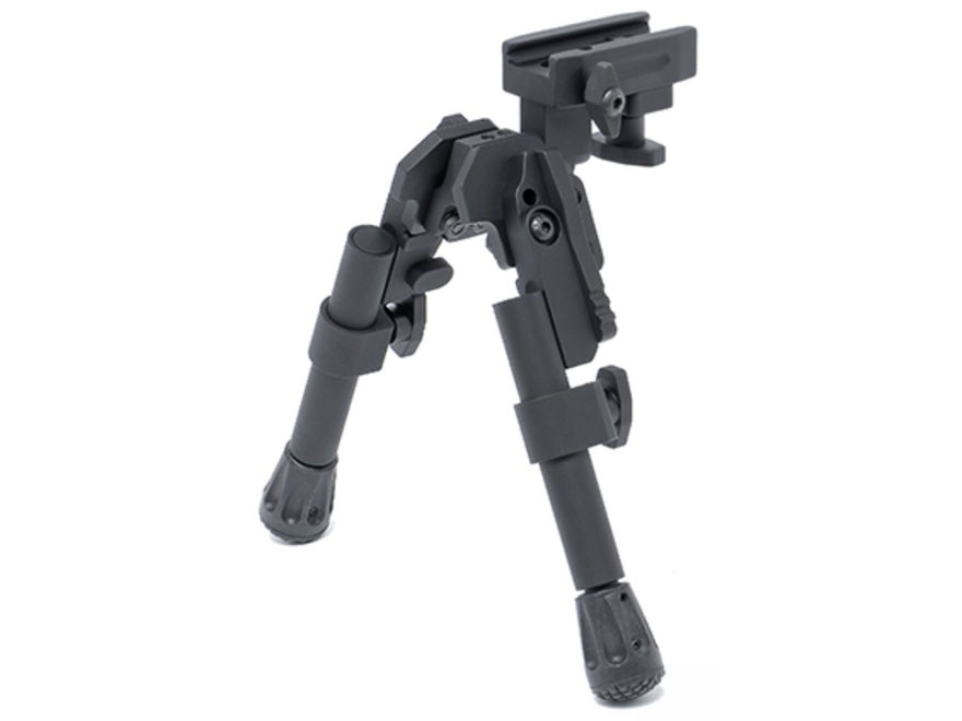 "GG&G XDS-2C Tactical Bipod Picatinny Rail Mount 6.675"" to 8.25"" Aluminum Black"
