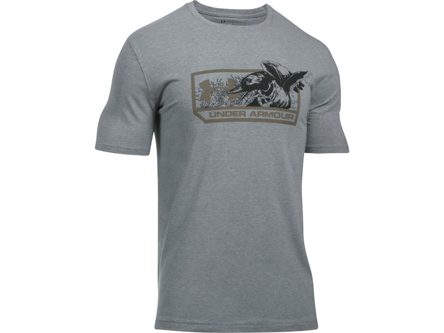 Under Armour Men's UA Mallard T-Shirt Short Sleeve Charged Cotton