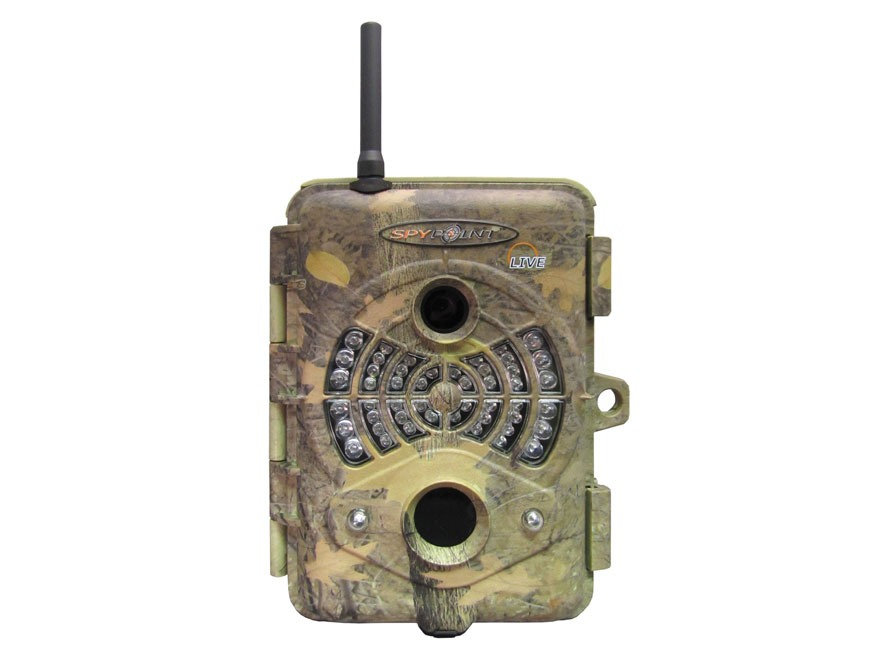 Spypoint LIVE Cellular Infrared Game Camera 5.0 Megapixel with Viewing Screen Spypoint ...