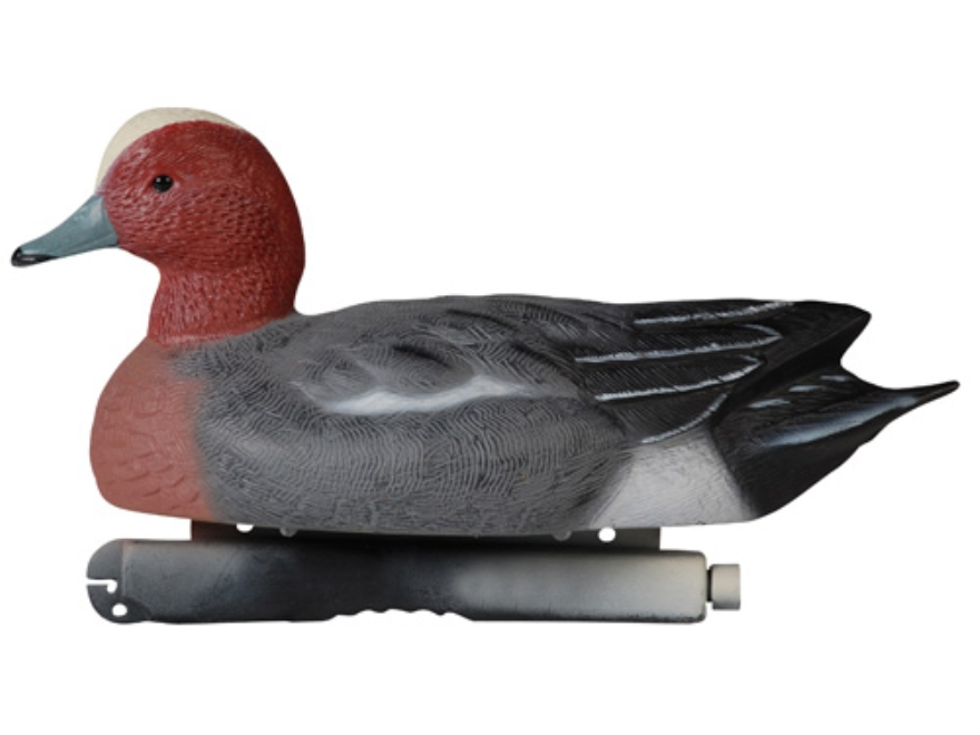 Tanglefree Pro Series Weighted Keel Eurasian Wigeon Duck Decoys Pack of 6