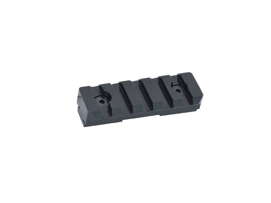Versa-Pod Adapter Freeland Rail to MIL-STD-1913 Picatinny Rail Aluminum Black