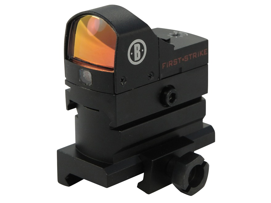 Bushnell AR Optics First Strike Reflex Red Dot Sight 5 MOA Dot with Hi-Rise Mount AR-15...