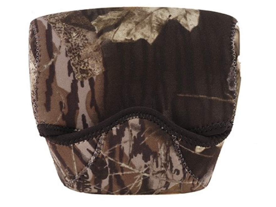 CrossTac Binocular Cover Medium Porro Prism Neoprene Reversible Black, Mossy Oak Break-...