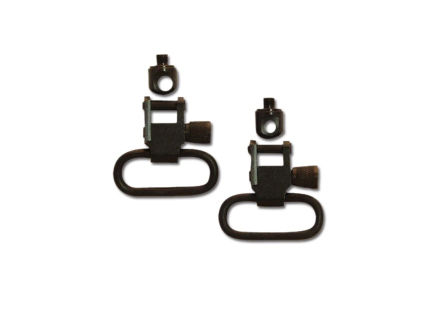 "GrovTec Sling Swivel Set Remington Nylon 22 Drill and Tap Sling Swivel Studs 1"" Locking..."