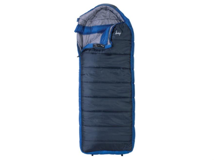 "Slumberjack Esplanade -20 Degree Sleeping Bag 34"" x 84"" Polyester Navy and Blue"