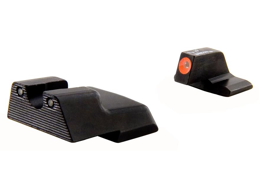 Trijicon HD Night Sight Set HK 45C, P30, VP9 Steel Matte 3-Dot Tritium Green