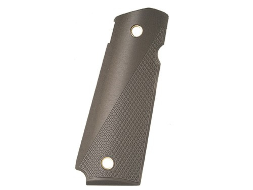 AlumaGrips Slim Line Grips 1911 Government, Commander Tactical Cut for Ambidextrous Thu...