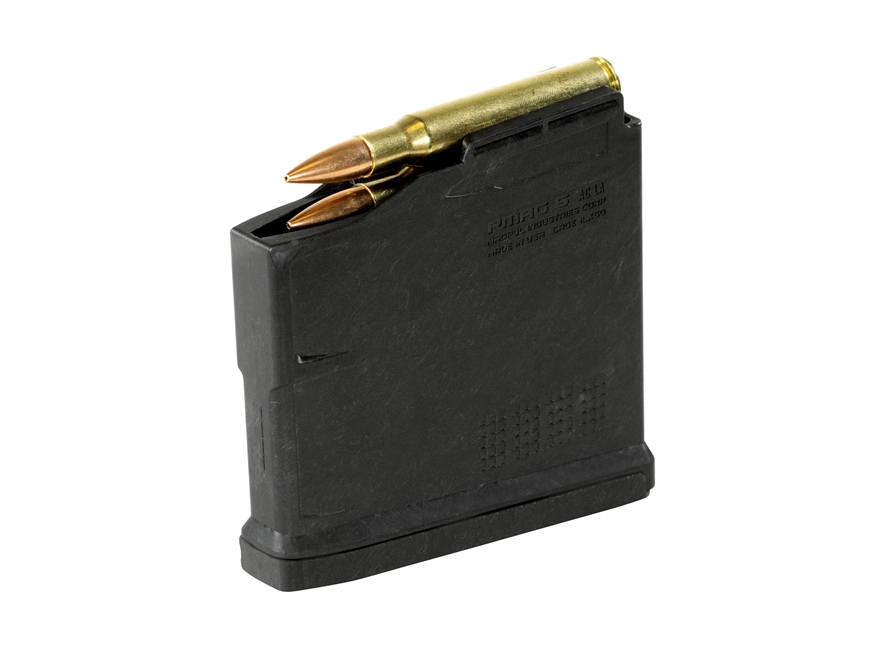 Magpul PMAG 5 AC L Magazine AICS Long Action Standard 5-Round Polymer Black