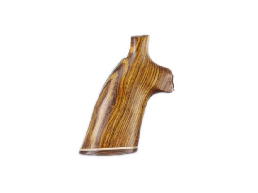 Hogue Fancy Hardwood Grips with Accent Stripe Ruger GP100, Super Redhawk