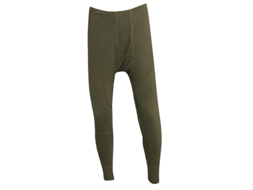 Military Surplus German Long John Pants Grade 1 Olive Drab Medium