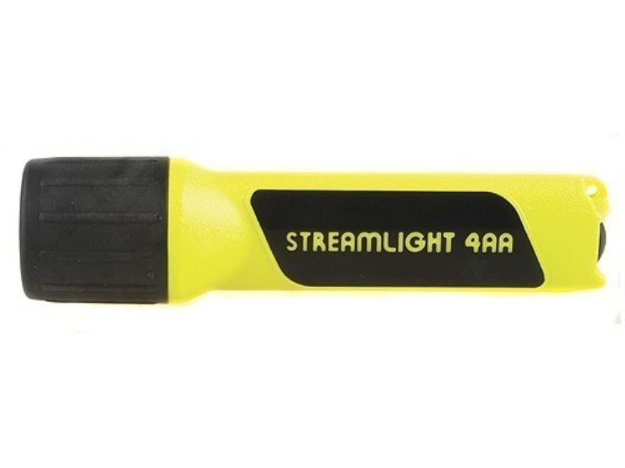 Streamlight Propolymer Flashlight Xenon with 4 AA Batteries Polymer Black