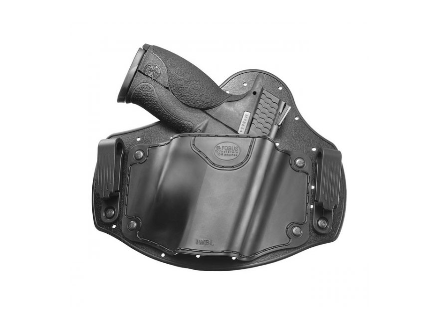 Fobus Universal Inside the Waistband Holster Right Hand Nylon and Polymer Black
