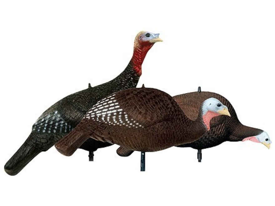 Delta Turkey Flock Turkey Decoy Polymer