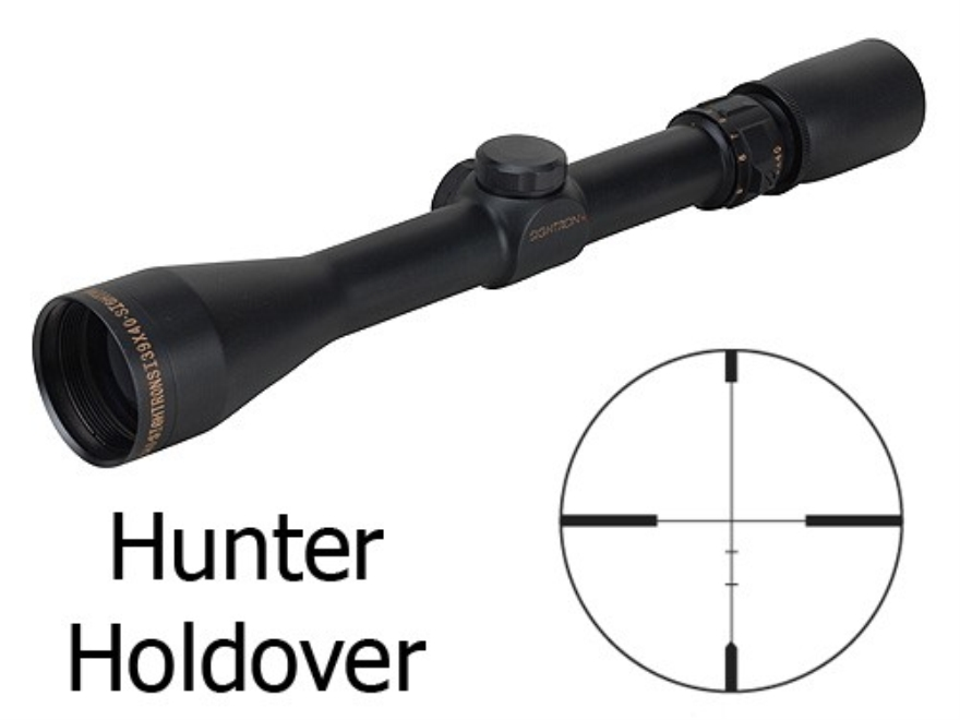 Sightron SI Rifle Scope 3-9x 40mm Hunter Holdover Reticle Matte