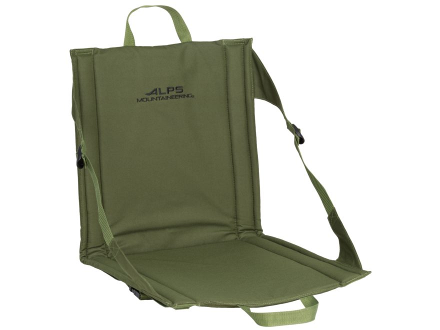 ALPS Mountaineering Weekender Folding Seat Polyester Green