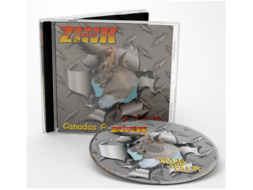 "Zink ""Canadas Gone Wild"" Goose Calling Instructional Audio CD"