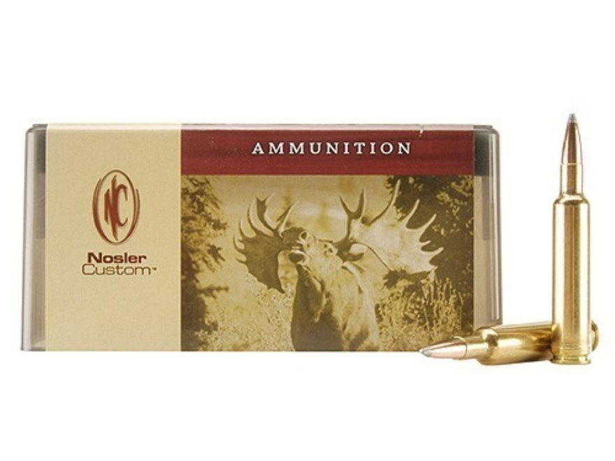 Nosler Custom Ammunition 270 Weatherby Magnum 150 Grain Partition Spitzer Box of 20