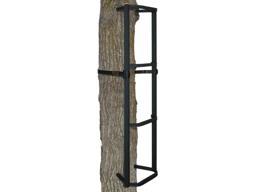 Muddy Outdoors The Stagger-Steps XLT Treestand Climbing Sticks Steel Black Pack of 3