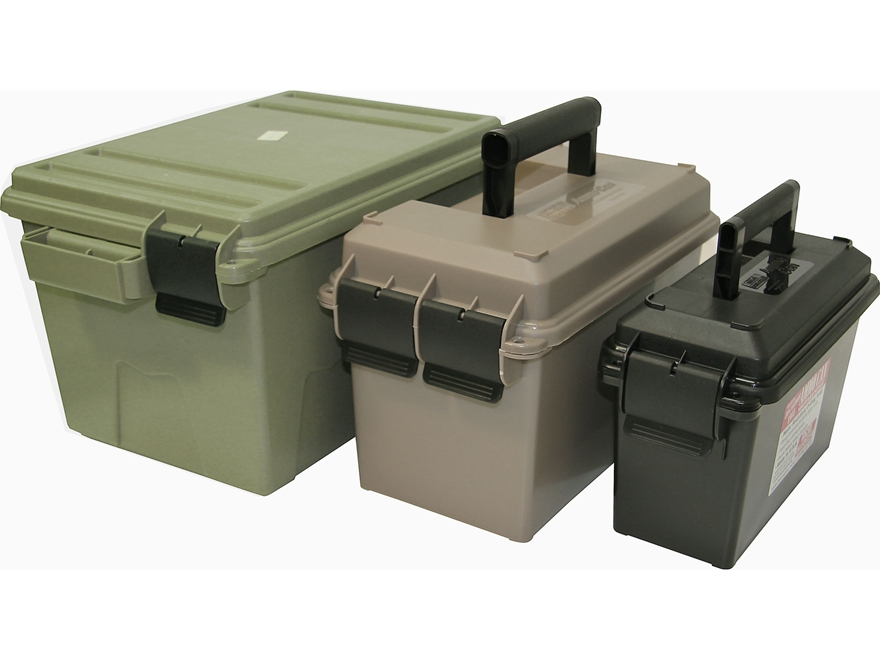 MTM Ammo Can-In-A-Can-In-A-Crate Combo 30 Caliber Can Black and 50 Caliber Can Dark Ear...