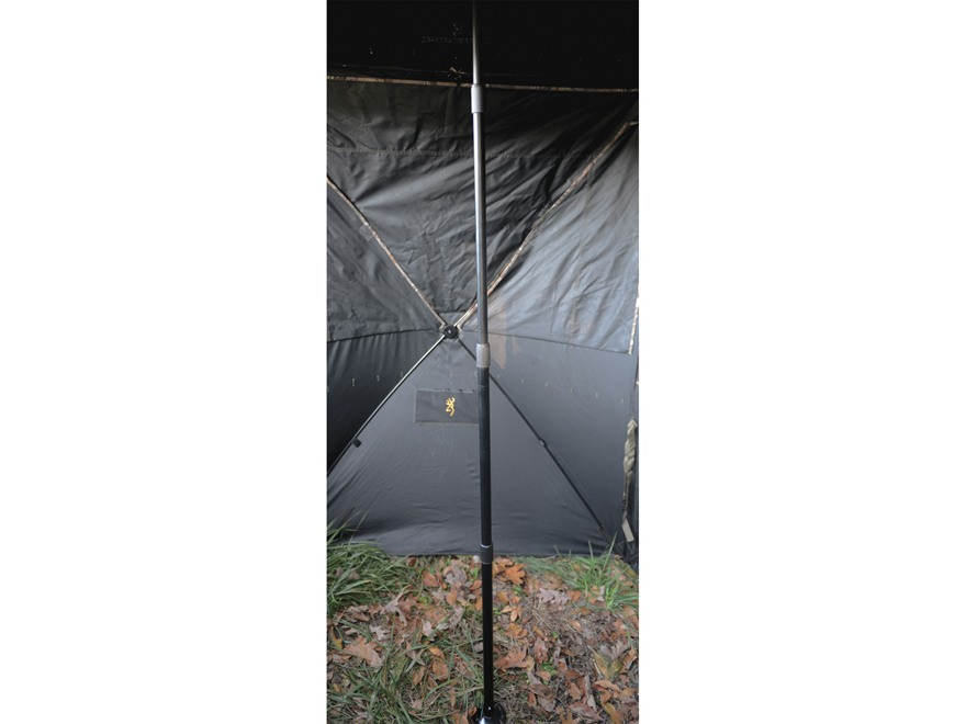 Browning Ground Blind Center Support Aluminum Black
