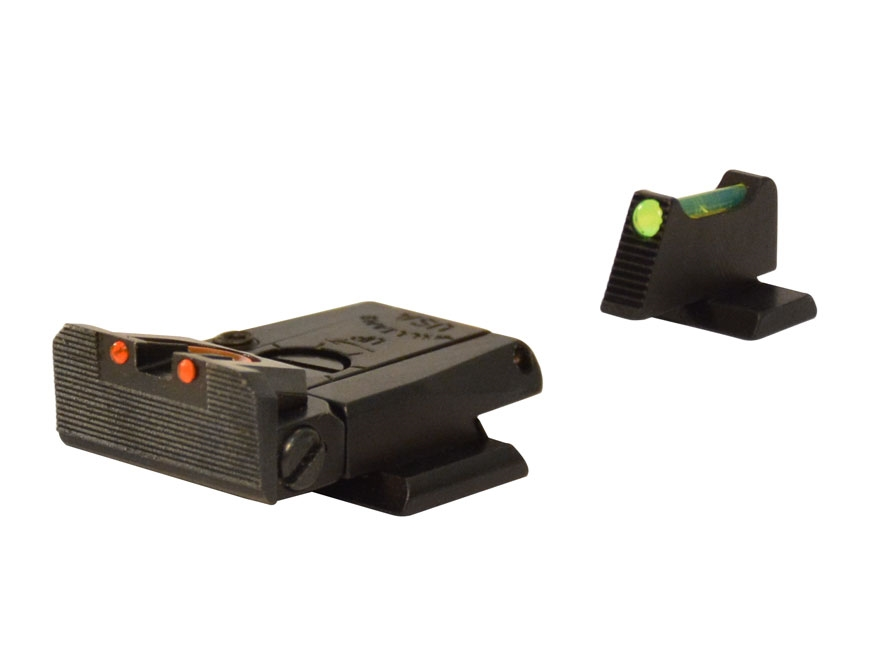 Williams Fire Sight Set Smith & Wesson M&P 22 Adjustable Fiber Optic Green Front, Red Rear