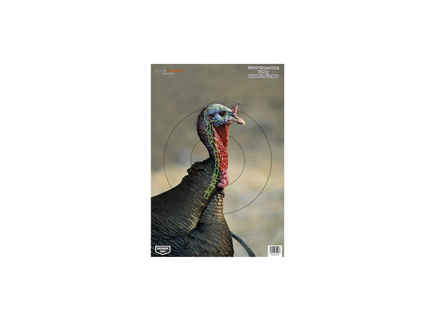 "Birchwood Casey PREGAME Turkey Reactive Target 12"" x 18"" Pack of 8"