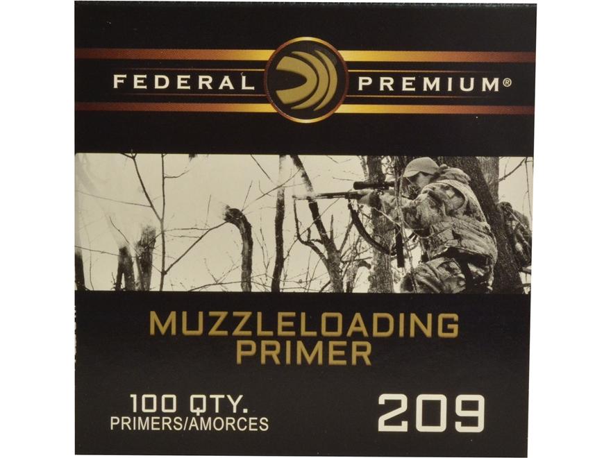 Federal Premium Primers #209 Muzzleloading