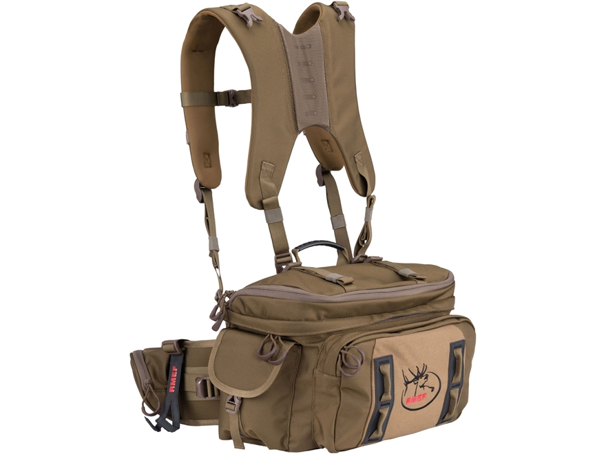 ALPS Outdoorz RMEF Switchback X Backpack Nylon Coyote Brown