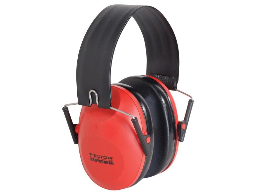 Peltor ShotGunner Folding Earmuffs (NRR 21dB) Red