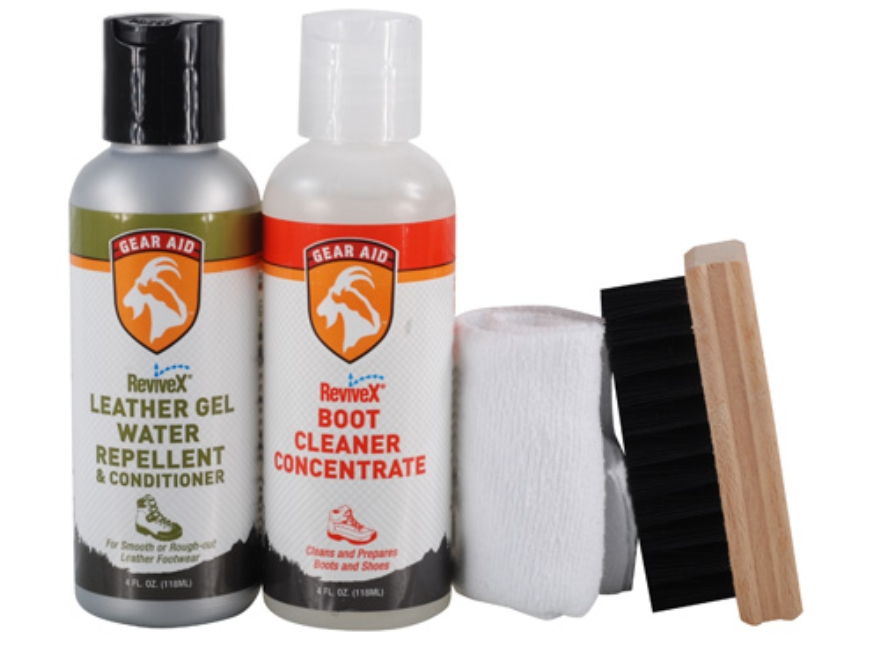 gear aid revivex leather boot care kit mpn 36771disc