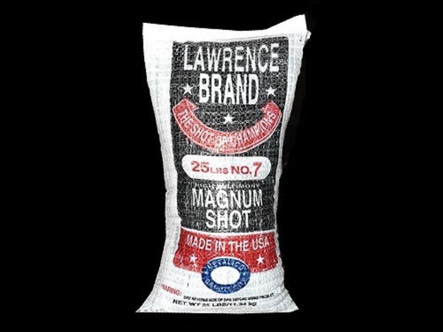 Lawrence Magnum Lead Shot #7 25 lb Bag