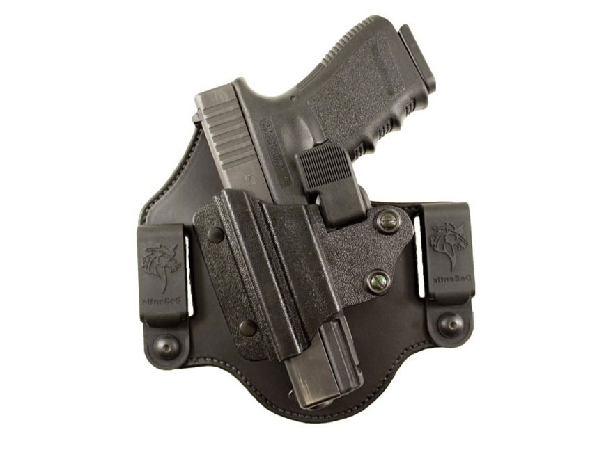 DeSantis The Prowler Holster Glock 17, 19, 22, 23, 26, 27, 31, 32, 33, 36 Leather and K...
