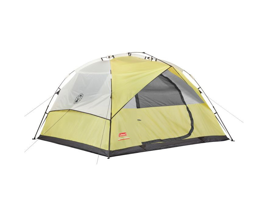 Coleman 6-Person Instant Dome Tent Polyester Yellow and White  sc 1 st  MidwayUSA & Coleman 6-Person Instant Dome Tent Polyester Yellow - MPN: 2000015675
