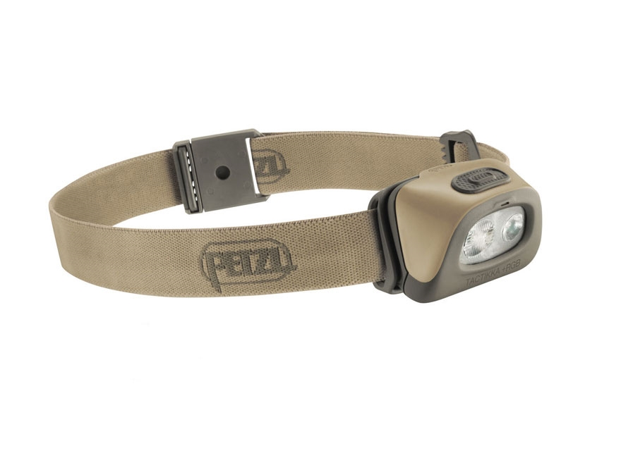 Petzl Tactikka + RGB  Headlamp LED with 3 AAA Batteries