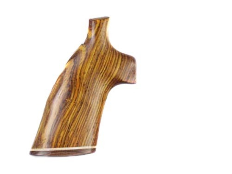 Hogue Fancy Hardwood Grips with Accent Stripe Ruger Speed Six