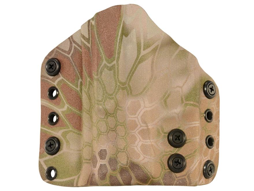 Lenwood Leather Wraith Belt Holster Glock 17,22,31 Kydex