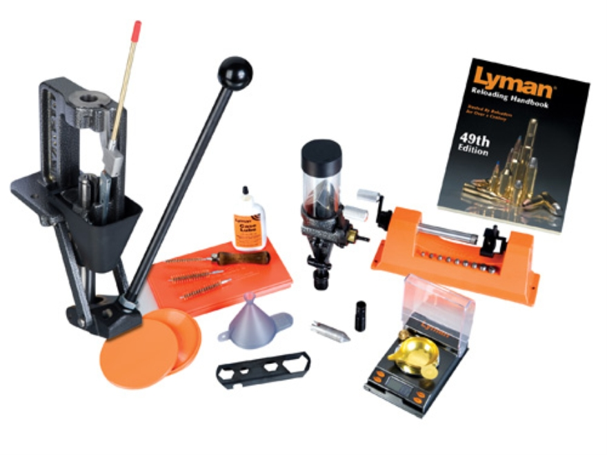 Lyman Crusher 2 Single Stage Press Deluxe Expert Kit 110 Volt
