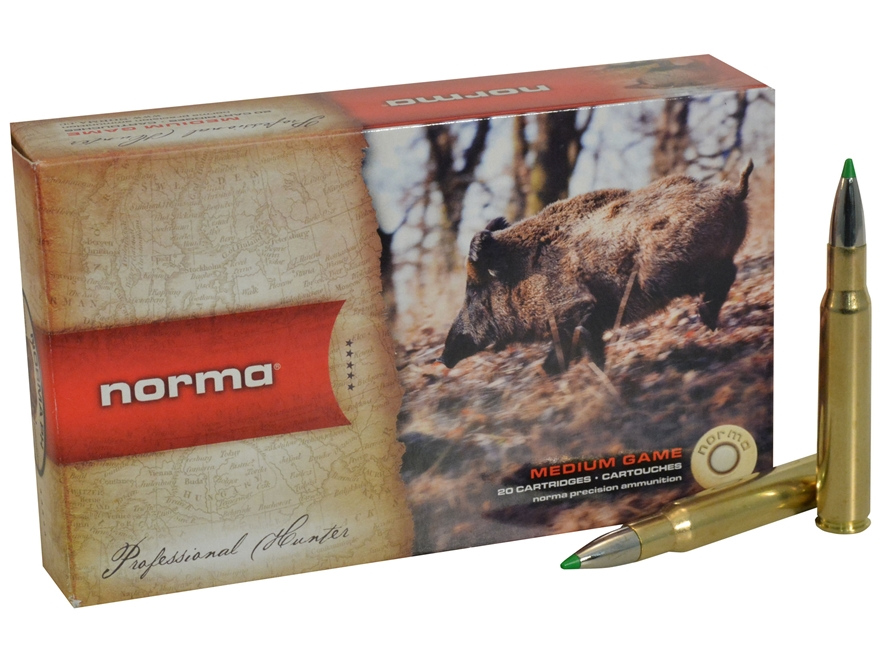 Norma USA American PH Ecostrike Ammunition 30-06 Springfield 150 Grain Tipped Boat Tail...
