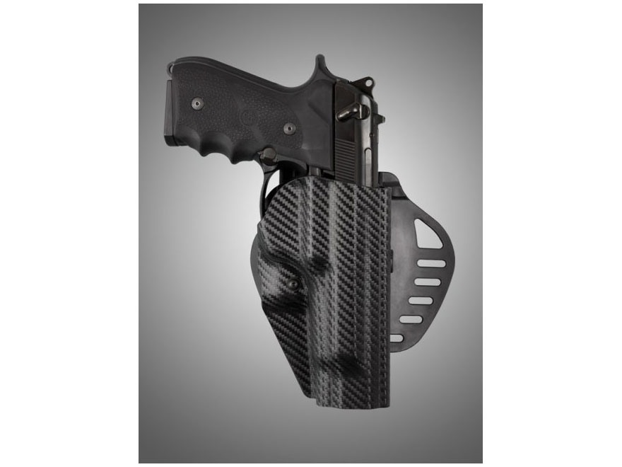 Hogue PowerSpeed Concealed Carry Holster Outside the Waistband (OWB) Right Hand Beretta...