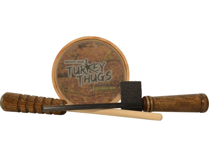 Quaker Boy Turkey Thugs Rim Shot Hardwood Glass Turkey Call