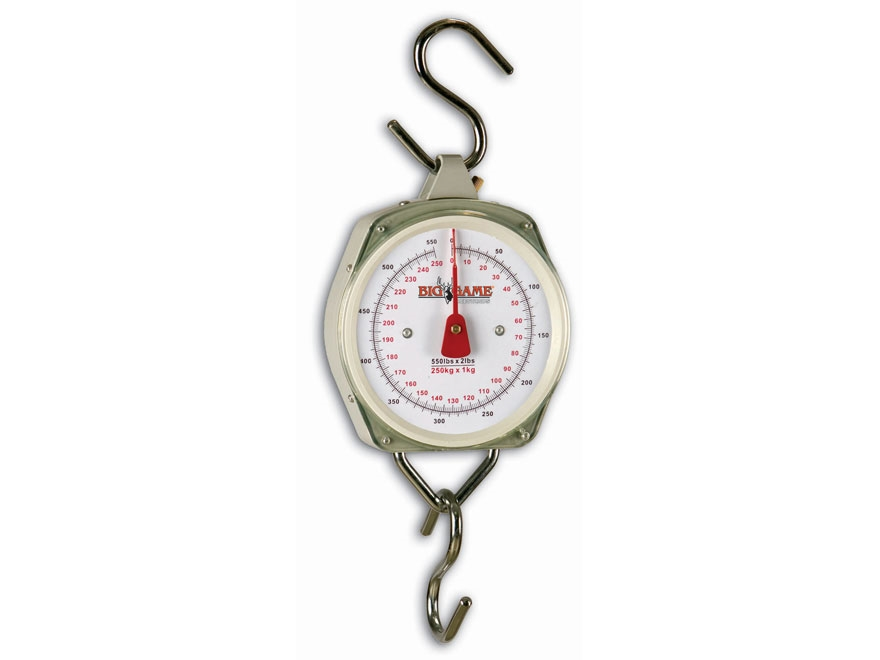 Big Game 550 lb Dial Scale