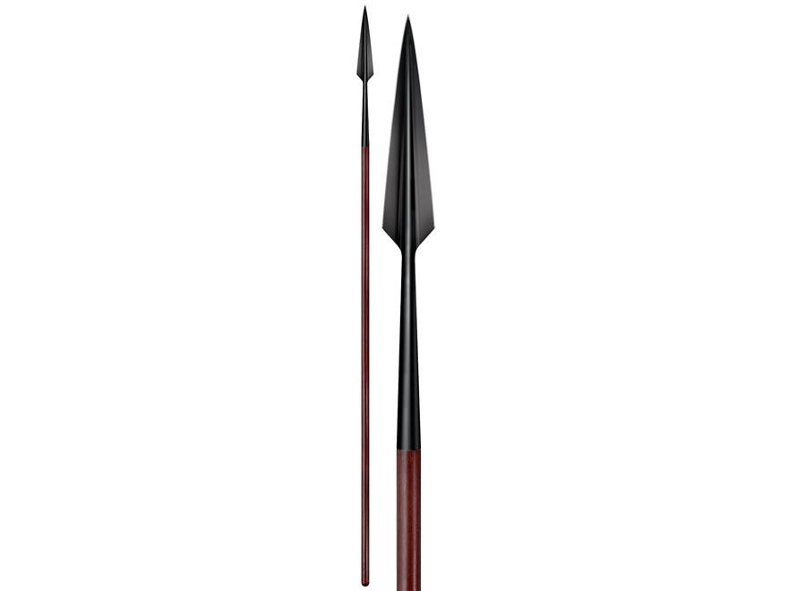 Cold Steel MAA European Spear 1055 Carbon Steel Head Ash Handle
