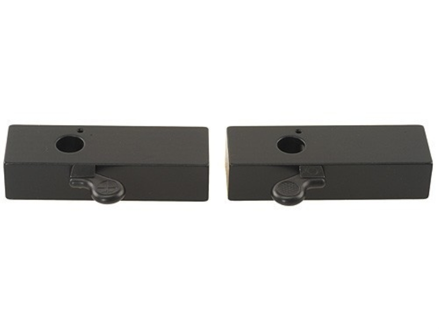 Leupold Gunsmith Quick-Release Scope Base Blank Steel Gloss Pack of 2