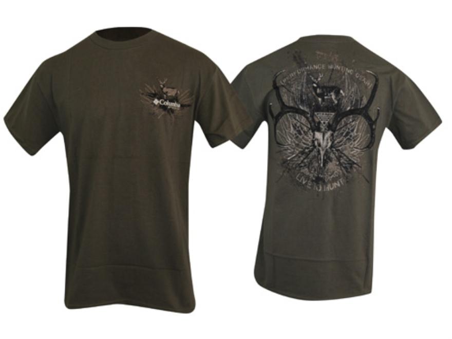 Columbia Men 39 S Phg Live To Hunt T Shirt Short Upc