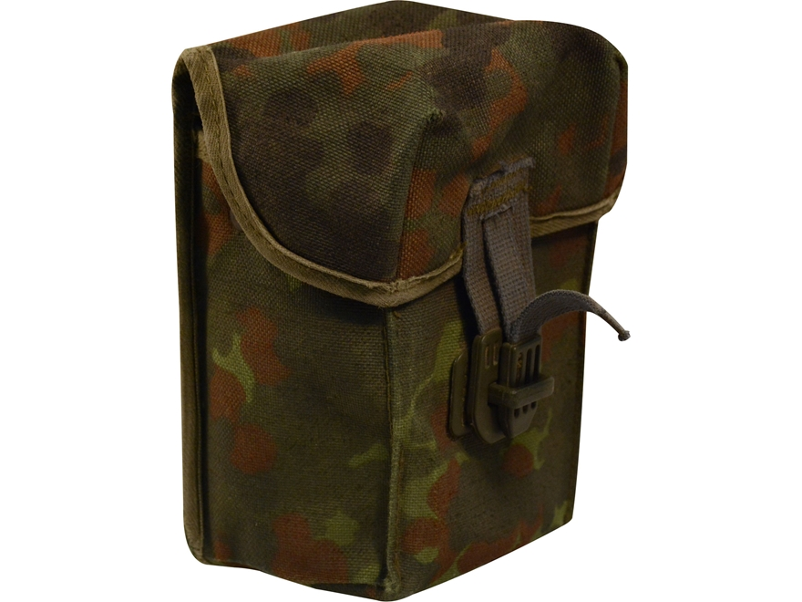 Military Surplus German G3 Magazine Pouch Flecktarn Camo