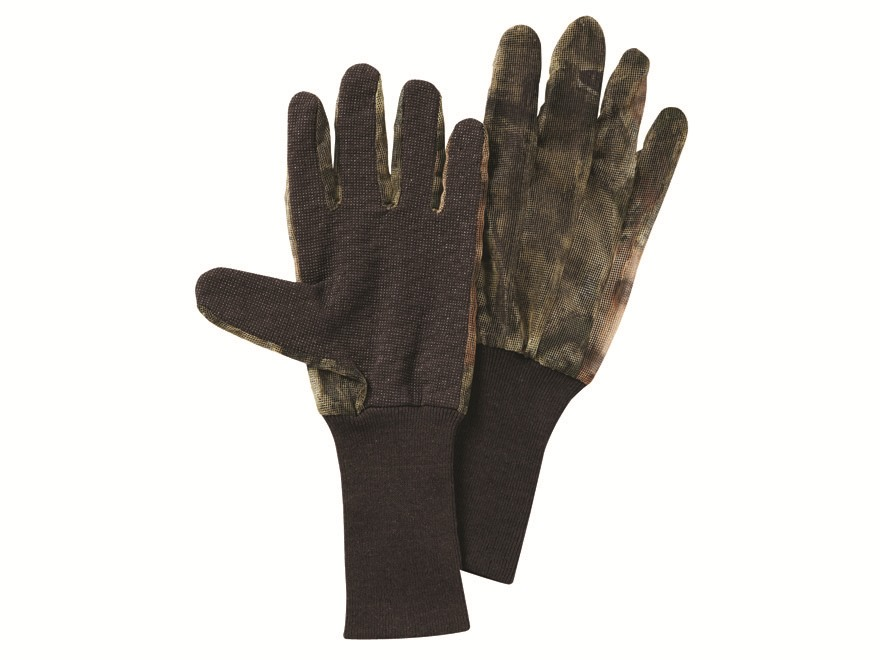 Hunter S Specialties Mesh Back Gloves Polyester Mossy Oak